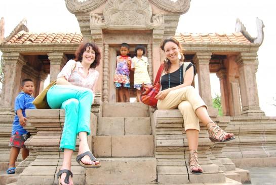 Kim Philley & Vanessa Boots Mini Preah Vihear, Frivolous Universe, FU, teal green, Thailand
