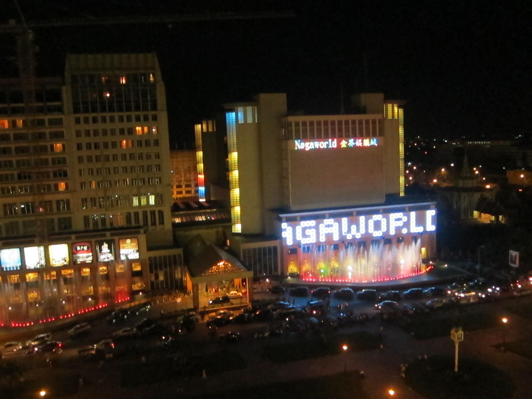 Nagaworld phnom penh casino