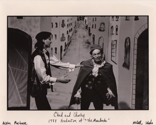 Moliere, Alpine Playhouse, Charley Taber