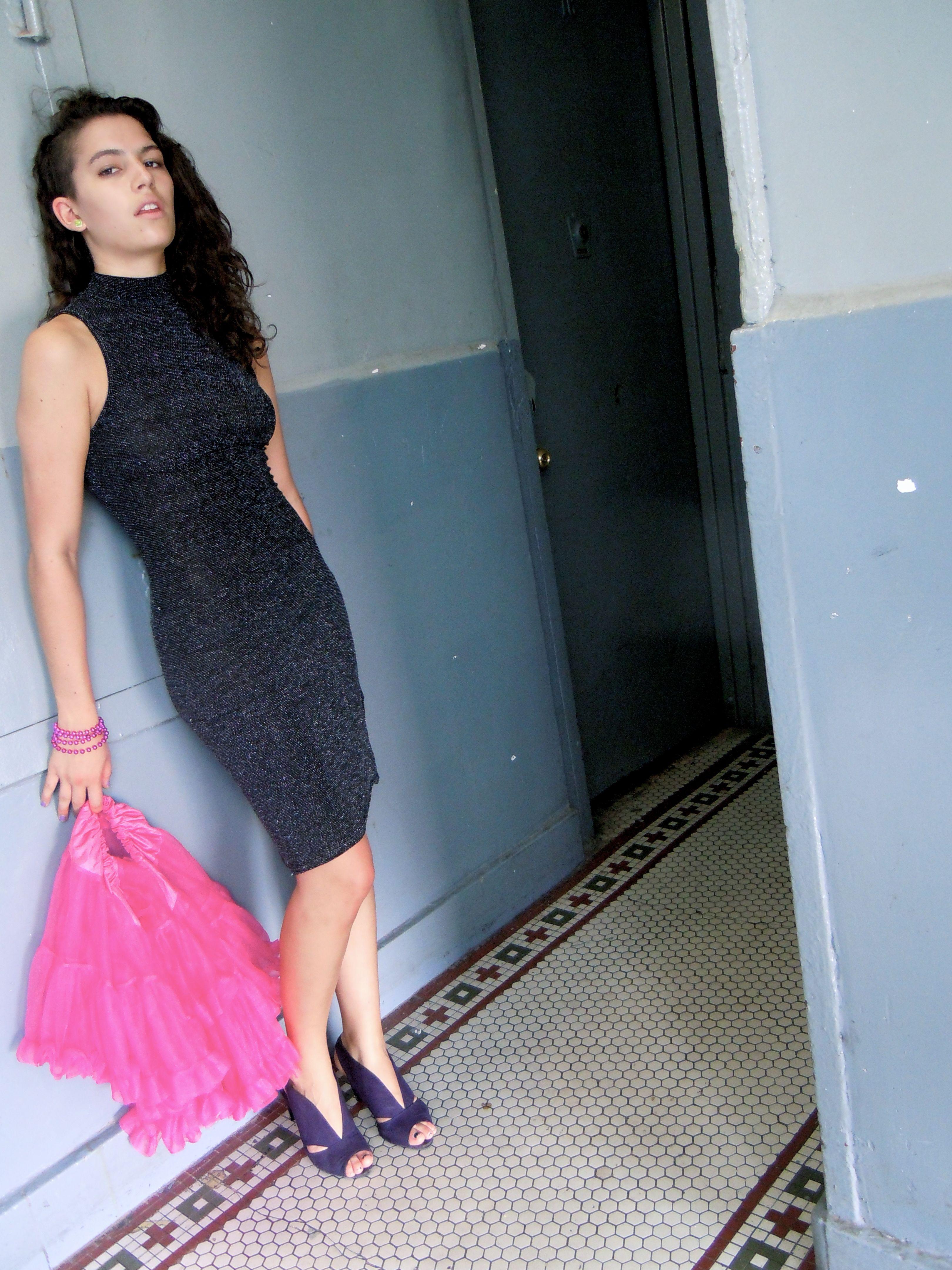Nicole In Sparkle Dress And Petticoat 17